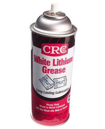 <b>Close-up: White lithium grease</b></br>