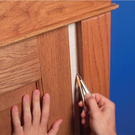 Fix Sagging Or Sticking Doors The Family Handyman