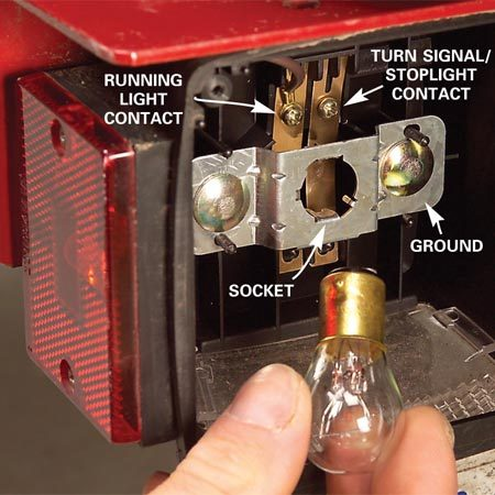 <b>Replace the bulb</b></br> Remove a bulb with a slight twist and install the new one by reversing the twist direction.
