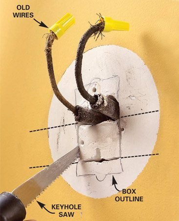 How to Connect Old Wiring to a New Light Fixture | The Family Handyman