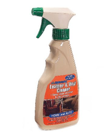 <b>Use special leather/vinyl cleaner</b><br/>Follow label direction to optimize cleaning and conditioning.