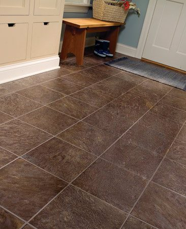 Plastic Flooring on Vinyl Flooring