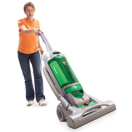 <b>Match vacuum to flooring</b></br> Upright vacuum with powerful agitator is best for carpet.
