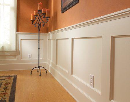 How To Build A Wainscoted Wall The Family Handyman