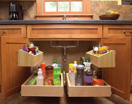 You'll find this one of the most useful projects to<br/> make life in the kitchen easier.