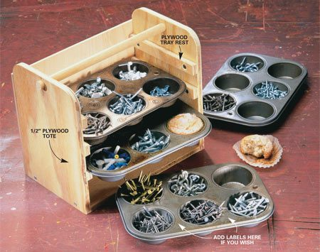 Hardware Storage Diy Tips And Hints The Family Handyman
