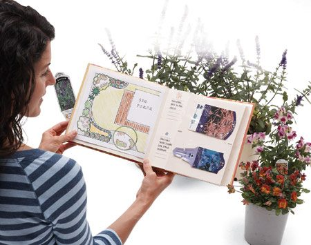 <b>Keep a scrapbook of plant data</b></br> Store plant tags and sticks inside a cheap photo album. You can add details such as when and where the plants were purchased, special care or even the plant's location on a sketch of your yard.