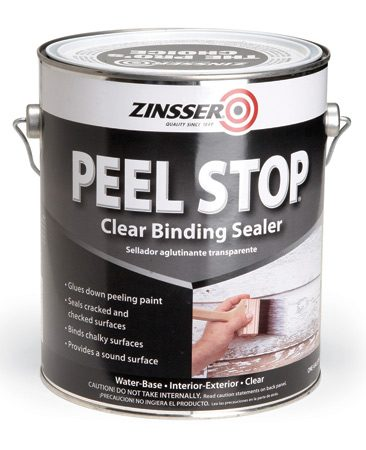 <b>Use binding primers to prevent peeling</b></br> Let's face it. Sometimes it's too much work to remove old exterior paint down to bare wood. Zinsser's Peel Stop and XIM's Peel Bond ($22 and $32 a gallon, respectively) are two clear, binding primers that are formulated to seal the edges of paint and prevent peeling. It's a good solution for painting over an area that you've scraped, but that has patches of sound paint you don't want to peel later.