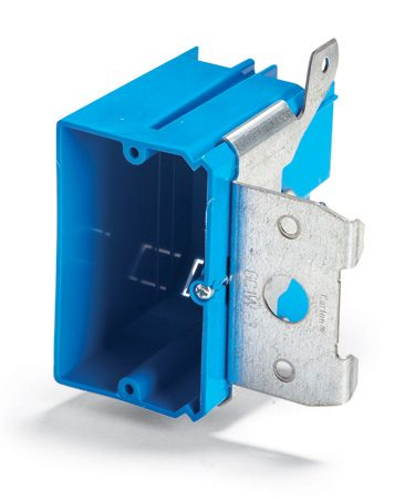 <b>Take away the guess work</b></br> An electrical box that can be adjusted until it's flush with the wall is a perfect solution when you're thinking about adding tile or paneling but aren't sure how thick the finished wall will be. Turning a screw in the Carlon box shown here moves the box in and out and allows you to fine-tune the box position after you've completed the wall covering. Adjustable-depth boxes cost a little more than regular boxes ($2 to $2.50 each) but can be worth every penny.