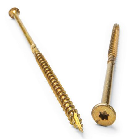 <b>Use premium construction screws</b></br> Premium construction screws have a few big advantages over the drywall screws we've all been using for years. Most have improved head designs: tight-fitting hex, Torx or Spider head driver bits. This eliminates the annoying tendency of Phillips head screws to strip out or slip off the bit. Premium construction screws are also less brittle than drywall screws, so they won't break off as easily, and they're coated to resist corrosion. There are several brands including GRK, Spax and FastenMaster.