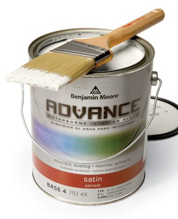 <b>New water-base alkyds are worth the money</b></br> There are several modern paints that combine the best advantages of water-base and oil paints for a smooth finish on woodwork  without fumes or tough clean up. Two popular examples  are Sherwin-Williams ProClassic Interior Waterbased Acrylic-Alkyd and Benjamin Moore's Advance Waterborne Interior Alkyd. Like any superior paint product, these aren't cheap. Expect to pay about $45 a gallon. But if it's a smooth, durable paint job you're after, water-base alkyds are worth every penny.
