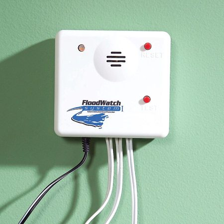 <b>Control unit</b><br/>The control unit is connected to the sensor, the shutoff and the power supply.