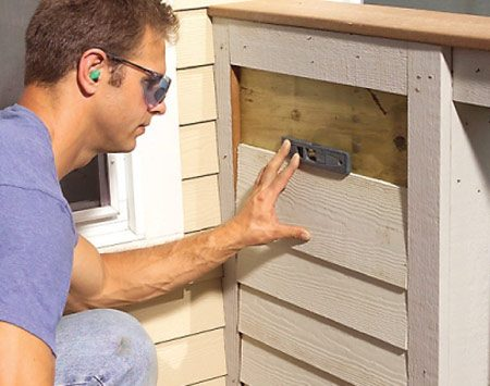 <b>Fiber cement lap siding</b></br>  This pre-primed siding is impervious to rot and decay and holds paint like a magnet.