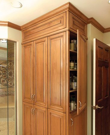 Easy-access cabinet
