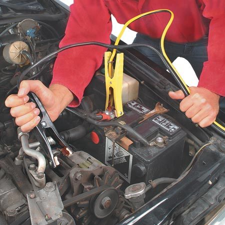 How To Jump Start Your Car Safely The Family Handyman