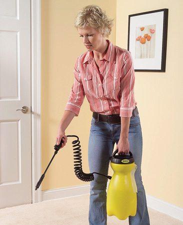<b>Carpet treatment</b></br> Spray an anti-static treatment on rugs and carpeting to reduce static shocks.