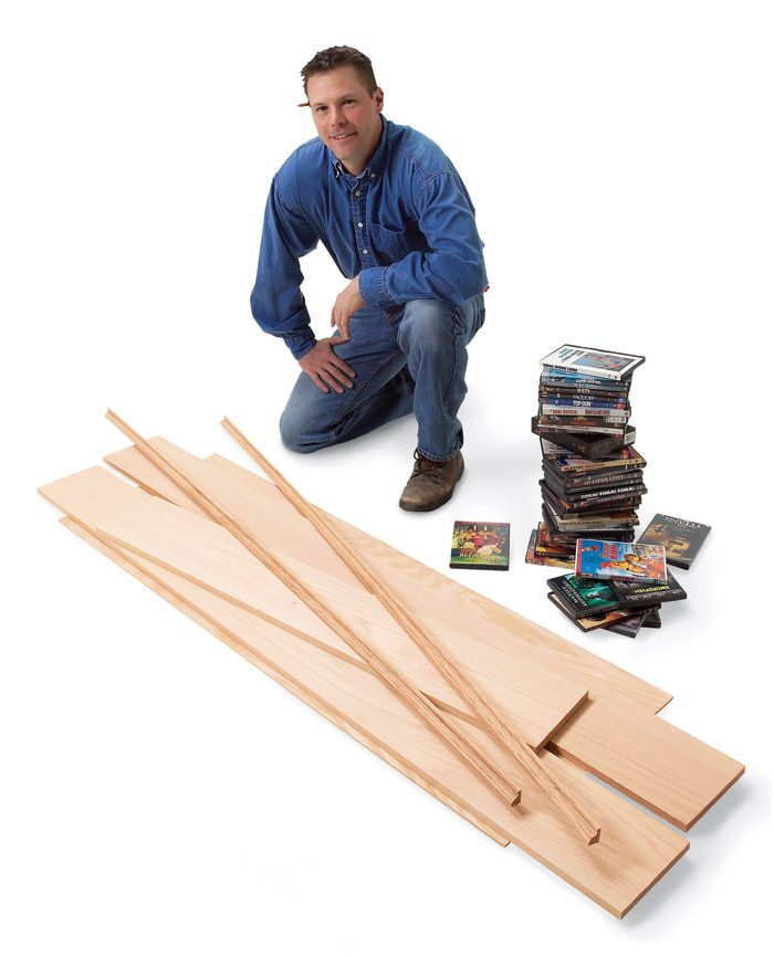 Build this project from three boards, a little plywood<br/> and 12 ft. of trim.