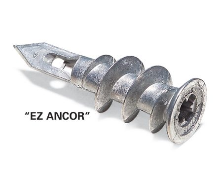 <b>EZ Anchor</b></br> EZ anchors have a strong hold in drywall