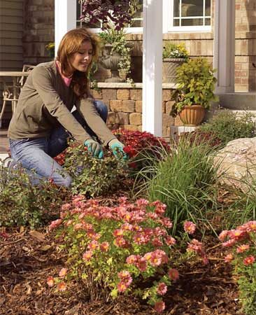 "<b>Strategy 3: Add mounds to flat areas</b></br> If you're stuck with a perfectly flat yard, a mounded ""island"" of earth is a great place to isolate and display plantings, yard ornaments, boulders or other eye-catching features. A yard with contours looks more natural than a flat yard. Order a dump truck's worth of topsoil, or use fill generated from patio or pond excavations."
