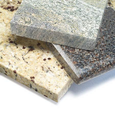 <b>Natural stone</b><br/>Natural stone has more variation and character than the manufactured tops.
