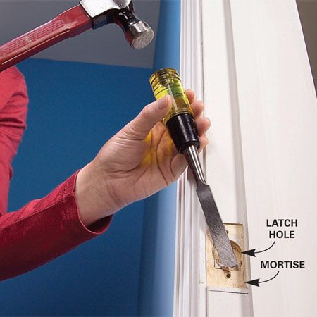 Fix A Door That Won T Close The Family Handyman