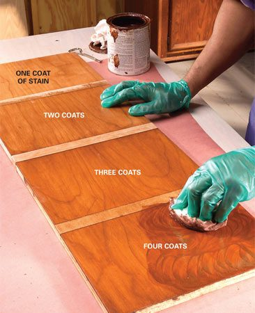 How To Stain Wood Evenly Without Getting Blotches And Dark