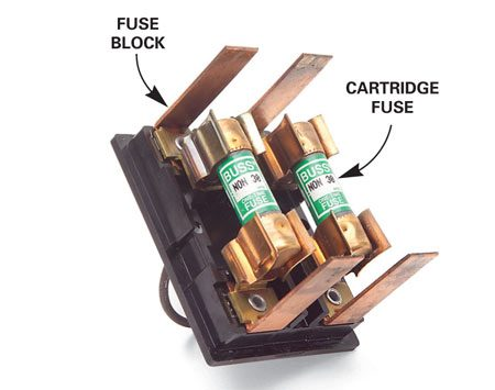 <b>Fuse block</b></br> Pull the fuse block and have them tested at a hardware store.
