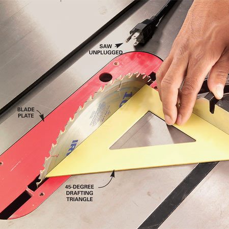 How To Use A Table Saw: Cross Cutting | The Family Handyman