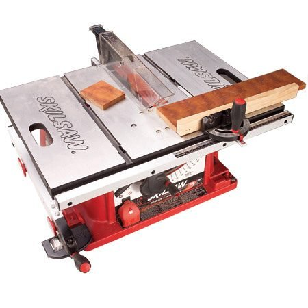 You can also make perfect crosscuts with a portable table saw.