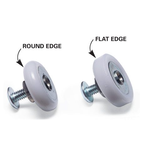 <b>Close up of rollers</b></br> Make sure all your rollers are either round or flat. Don't mix the two types.