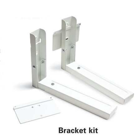 <b>Bracket kit</b><br/>Microwave brackets