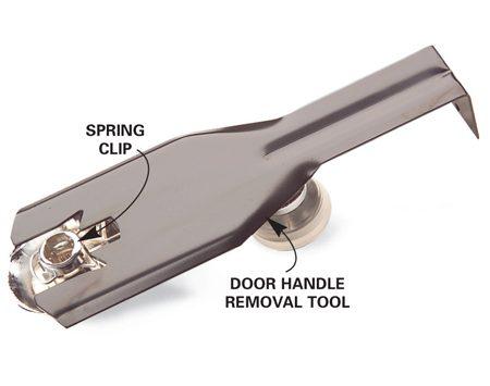 Door handle removal tool