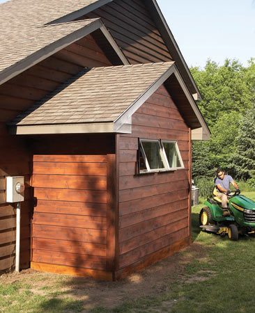 <b>It's easier than you think</b></br> It's easier than you might think.   <a href='http://www.familyhandyman.com/DIY-Projects/Home-Design-Ideas/Dream-Garages/get-more-garage-storage-with-a-bump-out-addition'>See how you can build a 5 x 12- ft. bump-out without adding a full concrete foundation here</a>.