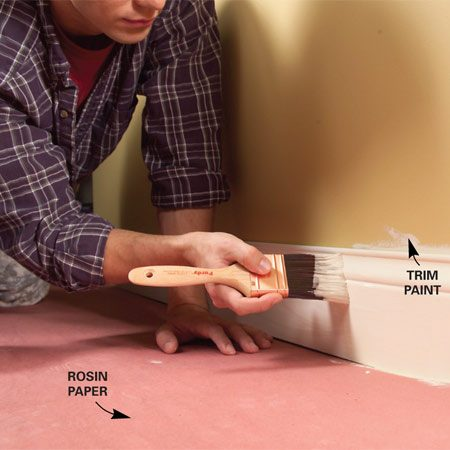 <b>Paint the trim first</b></br>