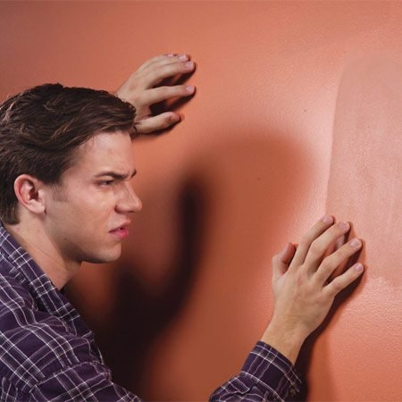 <b>Freshly painted walls often look blotchy</b></br>