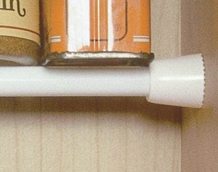 <b>Rod supports small spice bottles</b></br>