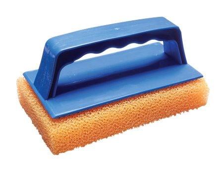 Plastic scrub pad