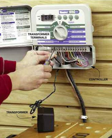 "<b>Test the transformer</b></br> Test the transformer voltage by placing the multimeter leads on the transformer terminals marked ""24 vac"" with the transformer plugged in. If the reading is less than 22, replace the transformer."