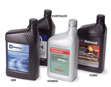 Transmission fluid types