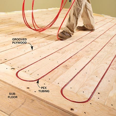 Electric vs hydronic radiant heat systems the family Warm toes radiant heat