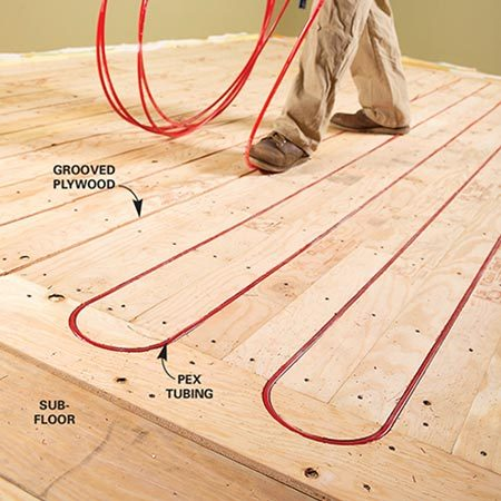 Electric Vs Hydronic Radiant Heat Systems The Family