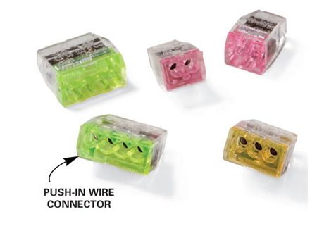 <b>Solution: Extend wires</b></br> If you run into short wires, there's an easy fix. Simply add 6-in. extensions onto the existing wires. The photo shows a type of wire connector that's easier to install in tight spots. You'll find these in hardware stores and home centers.
