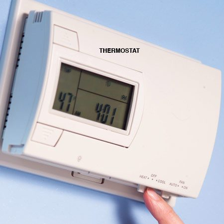 "<b>Thermostat controls</b></br> Move the thermostat setting to ""heat."""