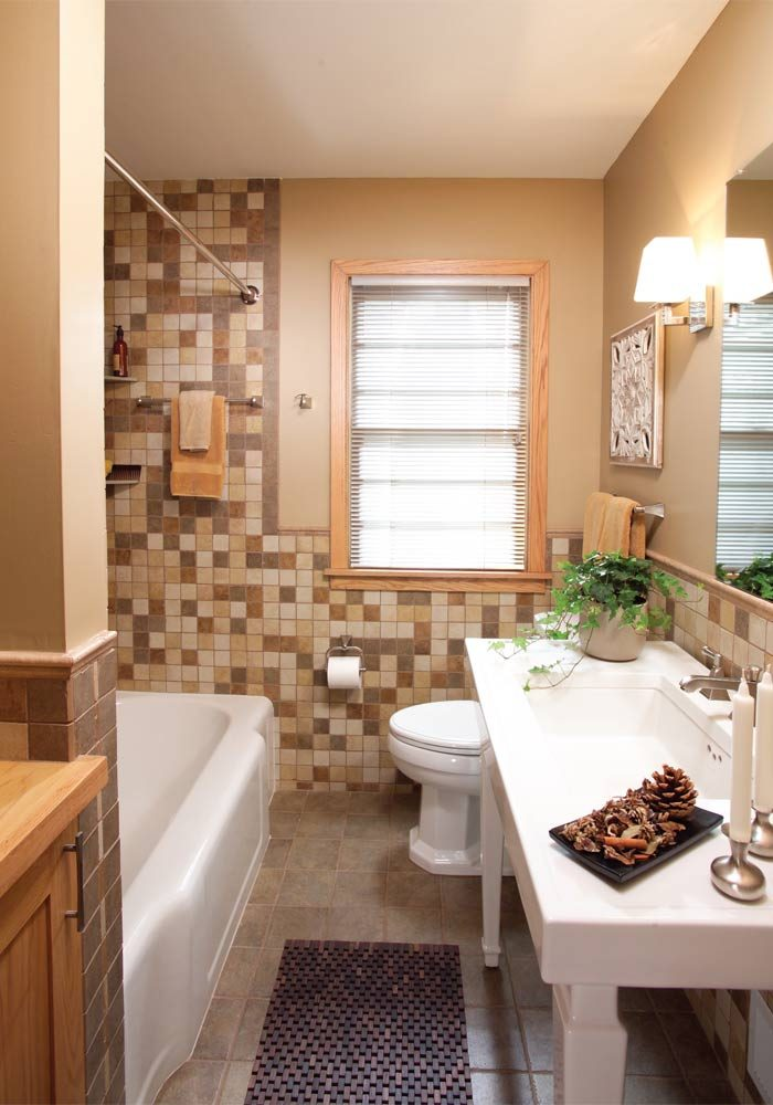 a small bathroom that feels big the family handyman