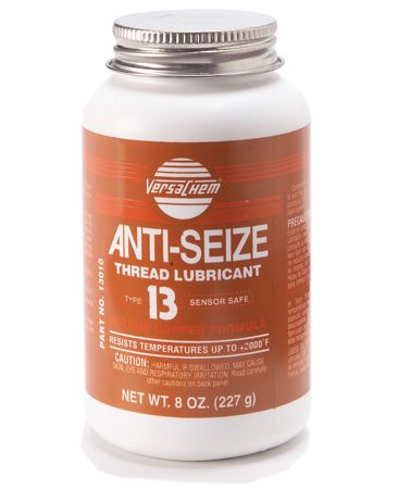 <b>Photo 3A: Close-up of anti-seize lubricant</b></br> This special lubricant stops rust.