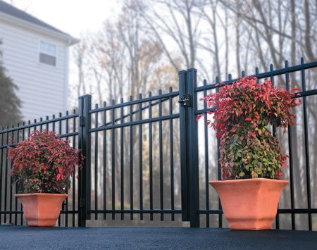 <b>Other types of composite</b></br> <p>Not all composites look like wood. This rail and picket fence is a composite made from plastic and fiberglass.</p> <p>Photo courtesy of CertainTeed</p>
