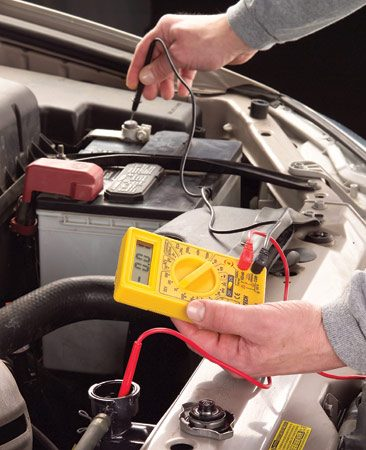 <b>Reading the multimeter</b></br> A reading of .4 volts or less means the coolant is good. Replace the coolant if the reading is higher than .4 volts.