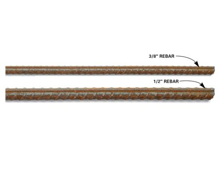 <b>Buy 1/2-in. and 3/8-in. rebar.</b></br> You'll need rebar in two sizes: 1/2-in. for the arches and 3/8-in. for the circles.