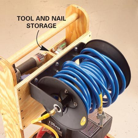 <b>Keep it together </b></br> You can all of your tools, materials and accessories together.