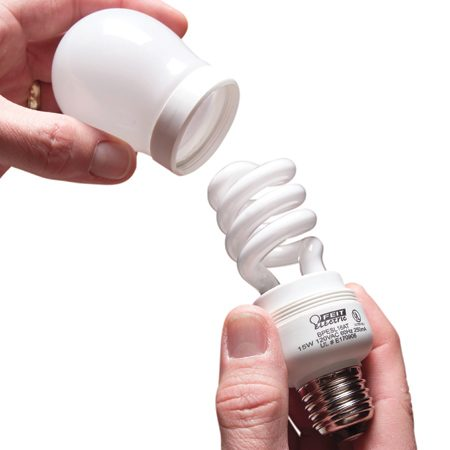 <b>Question</b></br> I've looked at compact fluorescent bulbs at the home center, but I'm not sure what to buy. How do I know which provides as much light as a regular 60- or 100-watt bulb?